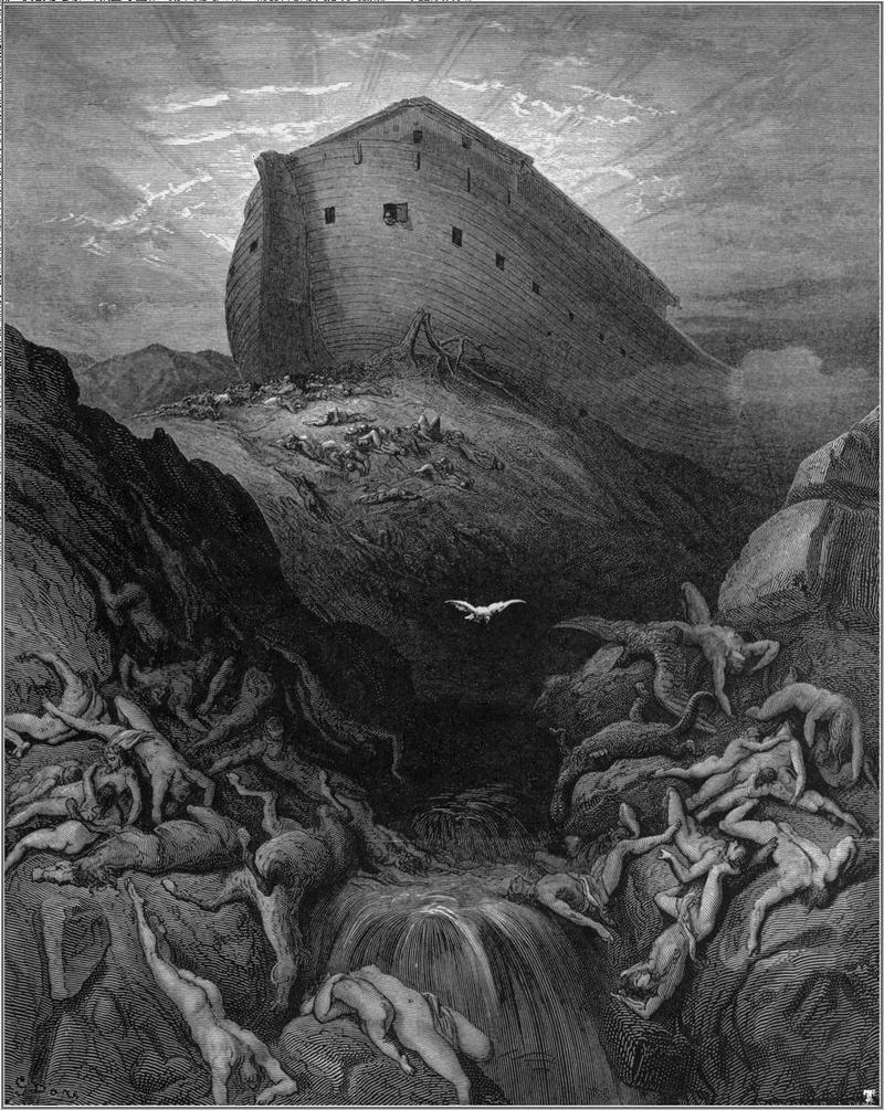 Ноев ковчег; иллюстрация Гюстава Доре. Фото Wikipedia