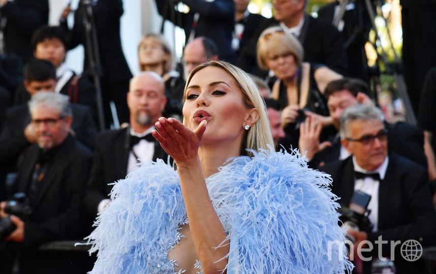 Виктория Боня в различных нарядах на Каннском кинофестивале-2017. Фото AFP