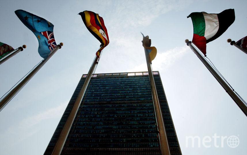 Здание ООН в Нью-Йорке. Фото Getty