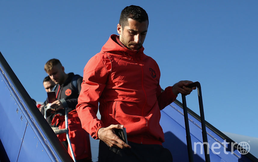 """Футболист """"Манчестер Юнайтед"""" Генрих Мхитарян. Фото Getty"""
