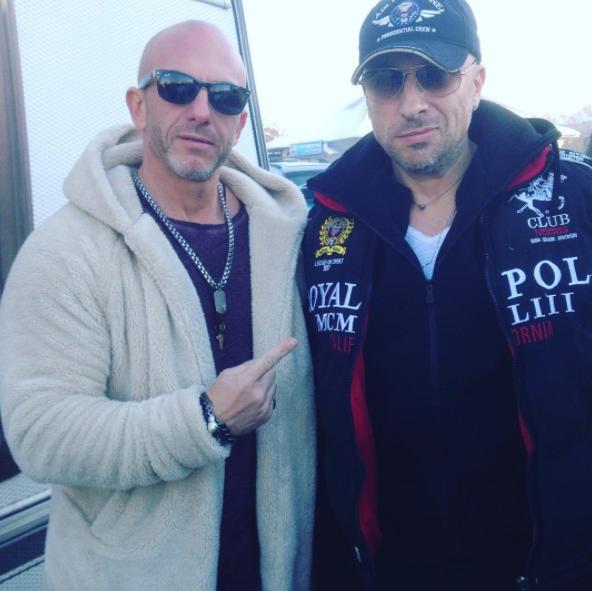 Реальные физруки – Дмитрией Нагиев и Алексей Муромцев. Фото все – Instagram Алексея Муромцева.