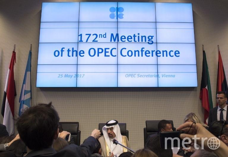 Встреча представителей стран ОПЕК. Фото AFP