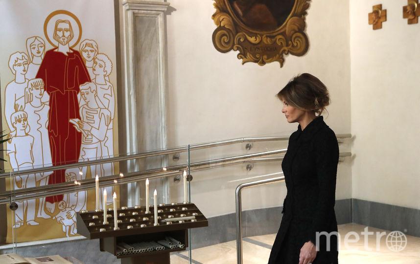 Дональд и Мелания Трамп в Ватикане. Фото Getty