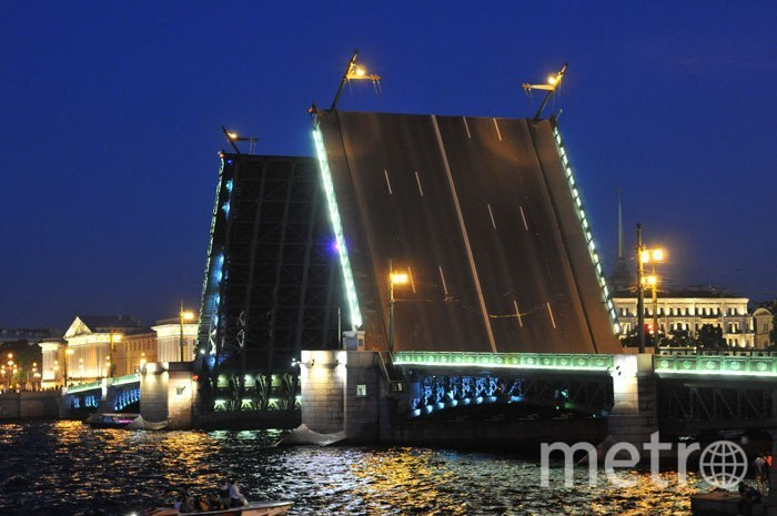 "Мосты Петербурга. Фото ""Metro"""