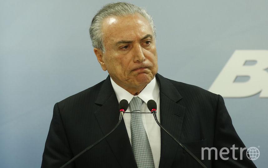 Руссефф: сегодняшний президент Бразилии работает нелегально