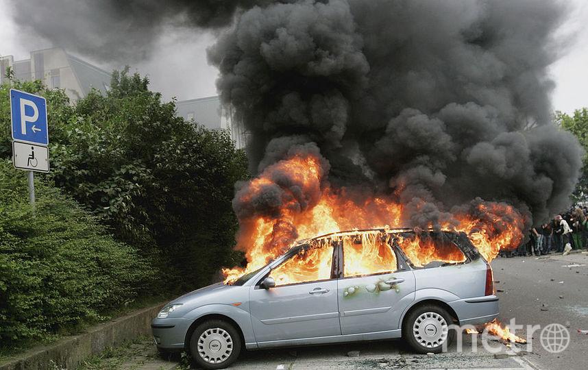 В Москве за ночь сгорели восемь автомобилей. Жанровое фото. Фото Getty