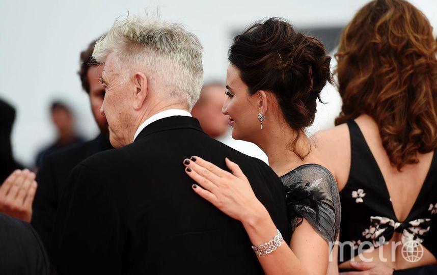 Дэвид Линч с супругой. Фото Getty