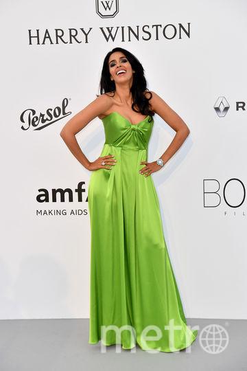 Итальянская актриса Малика Шеварат. Фото AFP