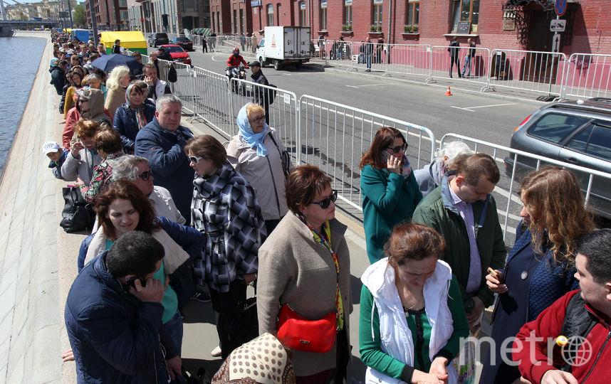 В столицу России впервый раз привезли мощи святого Николая Чудотворца