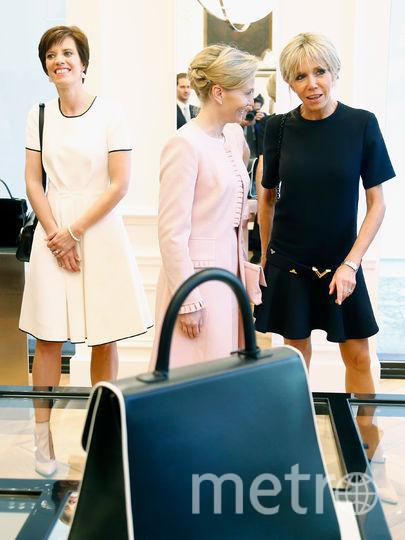 Меланья Трамп и Брижит Макрон борются за статус иконы стиля. Фото Getty