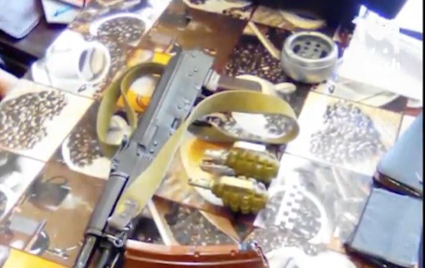 Опубликовано видео задержания боевиков ИГ, готовивших теракты в Москве. Фото Скриншот Youtube