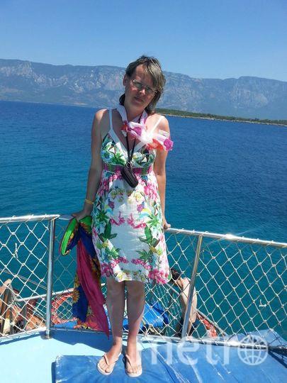 В этом платье я первый раз в жизни побывала на море! Это было счастье! Фото Елена Калинина