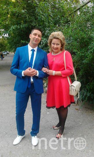 В этом счастливом платье я женила младшего сыночка Андрюшеньку. Елизавета.