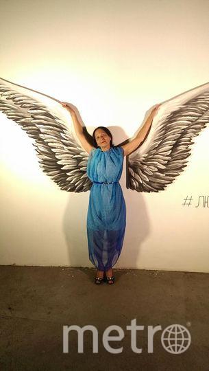 Это счастливое платье мне сшила мама. В нём я всегда чувствую себя уверенно, оно меня окрыляет и вдохновляет на творческие идеи! Левина Марина.