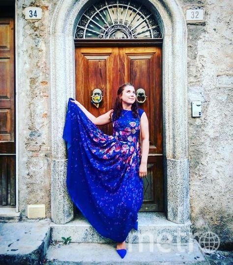 это моё счастливое платье! В нём я встретила много радостных дней! Одним из таких дней стал солнечный понедельник на Сицилии, когда мы гуляли на свадьбе близкой подруги. Фото Александра Ахметова