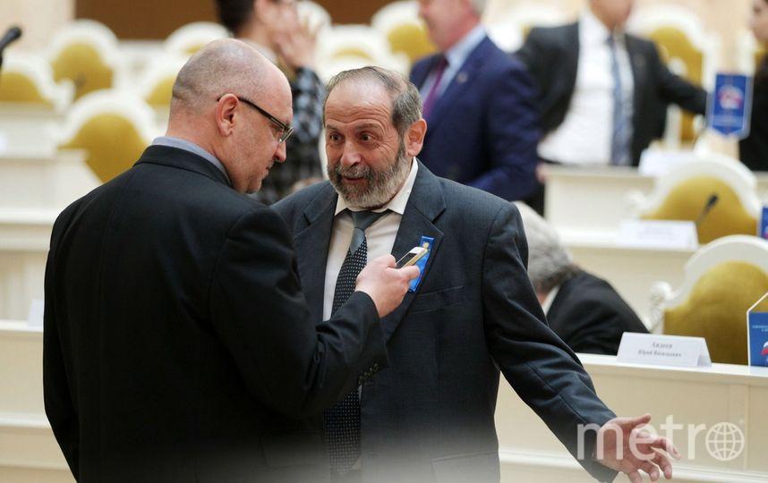 Максим Резник и Борис Вишневский. Фото assembly.spb.ru.