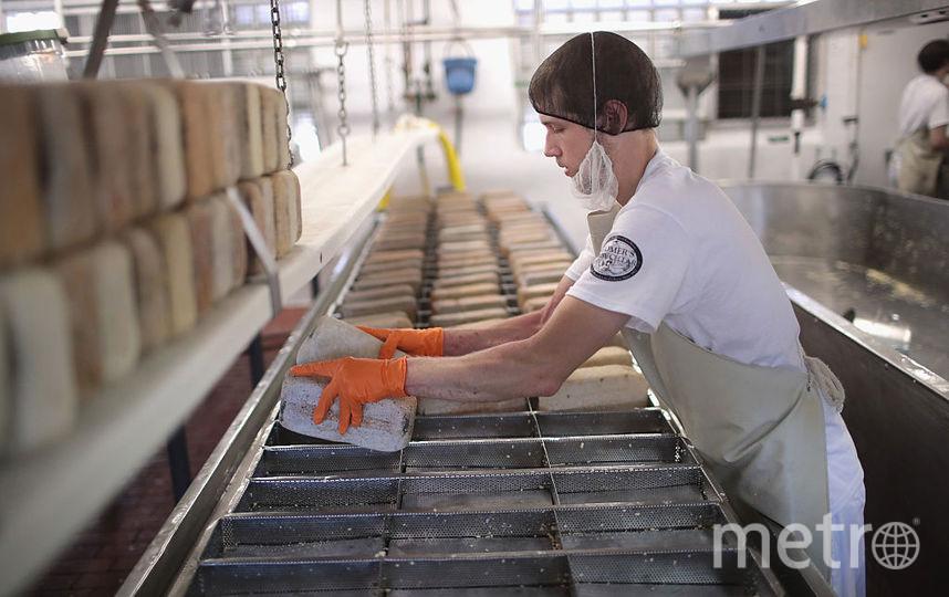 Потом также планирует начать производство твёрдых сыров. Фото Getty