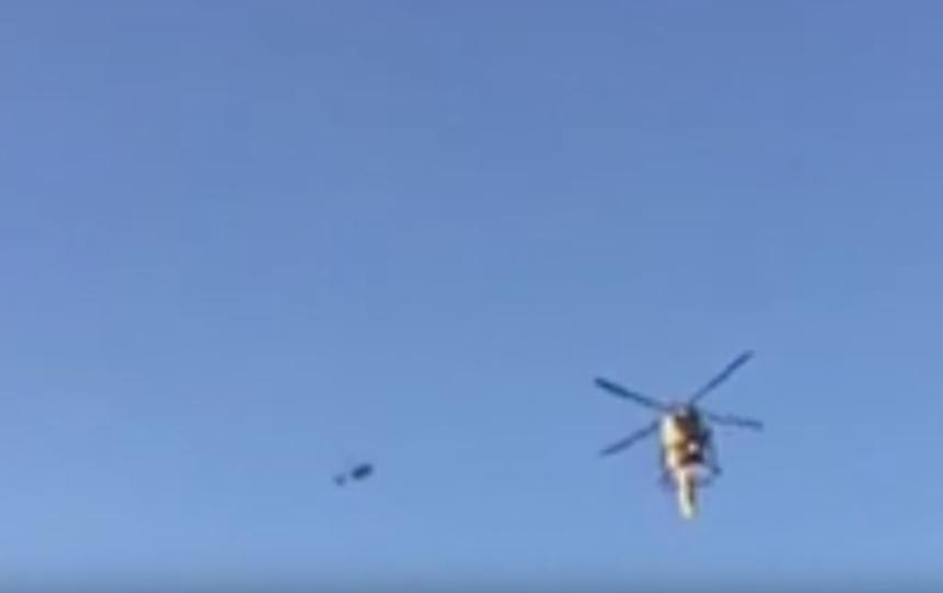 Операция по спасению подростка. Фото Скриншот Youtube