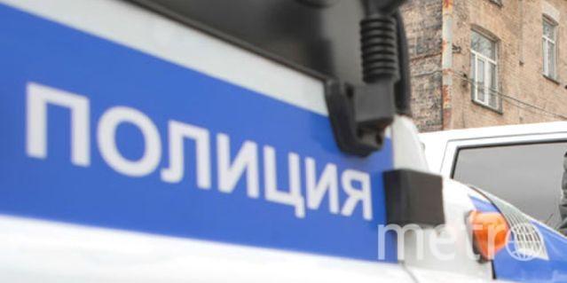 """Молодой человек задержан. Фото """"Metro"""""""