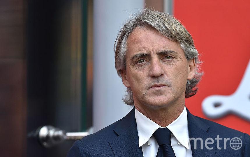 Итальянский тренер Роберто Манчини. Фото Getty