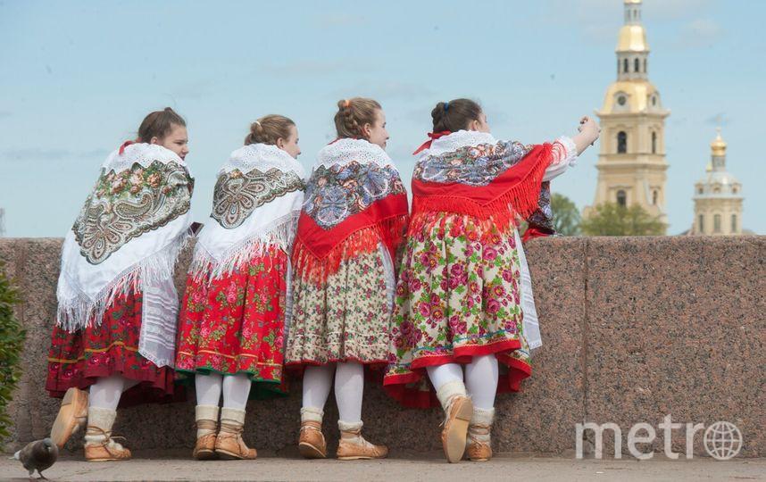 В Петербурге состоялся Бал Национальностей.