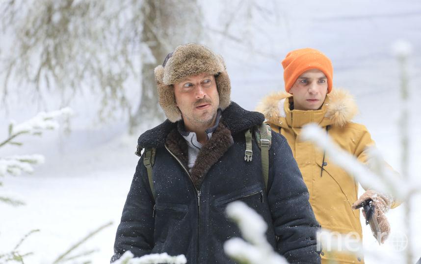 Дмитрий Нагиев и Даниил Вахрушев. Фото Bazalevs.