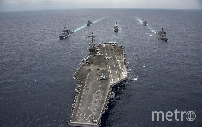 USS Nimitz. Фото Getty