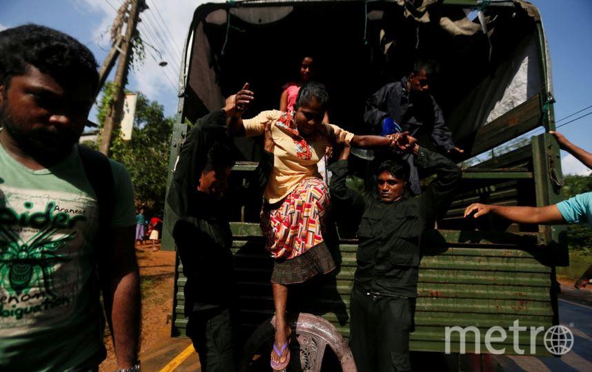 Число погибших наводнений наШри-Ланке достигло 164