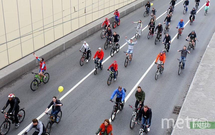 Всероссийский велопарад в столице России собрал рекордное число участников