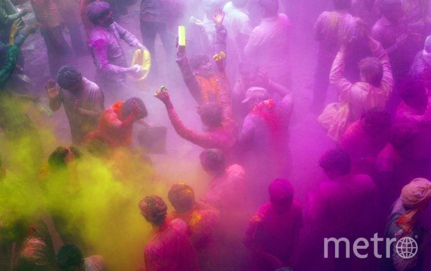 Фестиваль красок ежегодно проводится по всему миру. Фото Getty