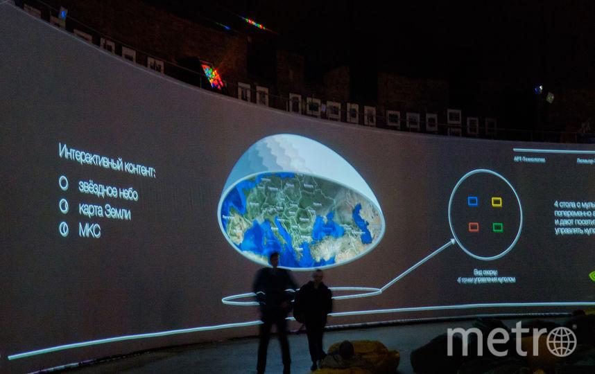 Осенью в Петербурге откроется самый большой в мире планетарий. Фото Все - Алёна Бобрович.