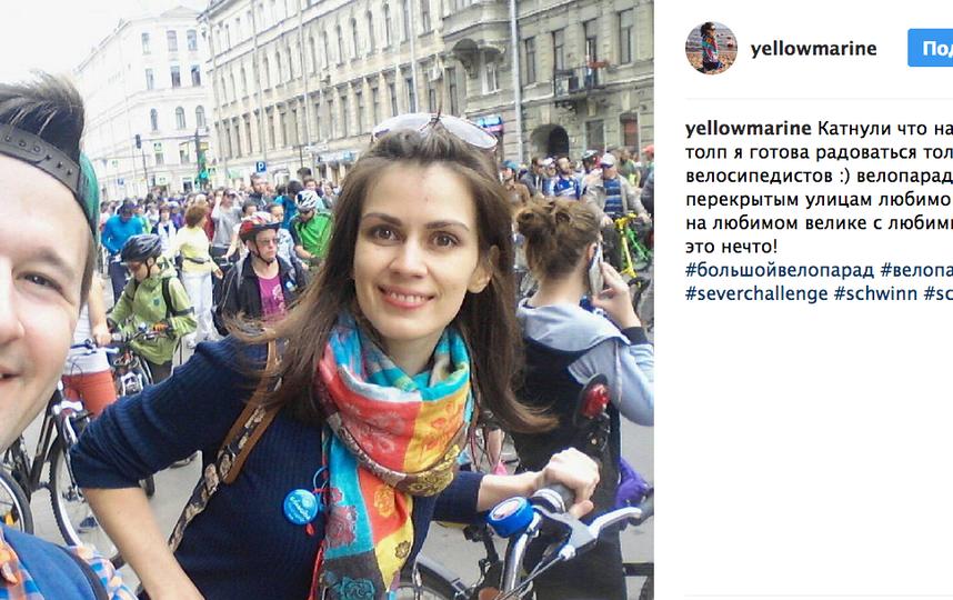 Большой Велопарад в Петербурге - 2017.