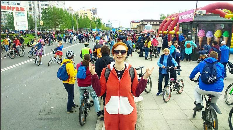 Большой Велопарад в Петербурге - 2017. Фото Getty