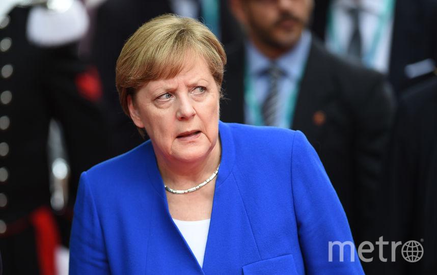 Ангела Меркель на саммите G7. Фото AFP