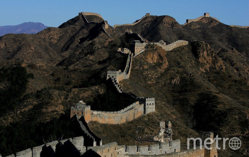 Великая китайская стена, какой мы её не видели. Фото Getty