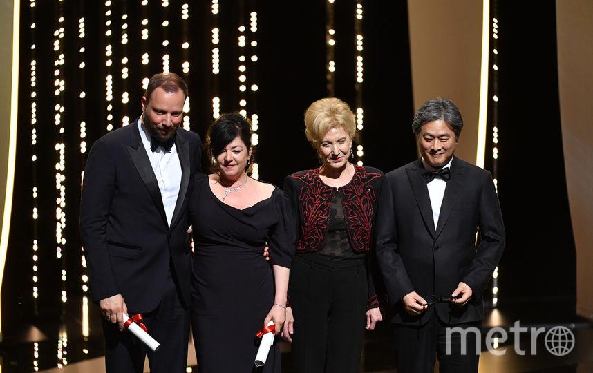 Церемония награждения Каннского кинофестиваля-2017. Фото AFP