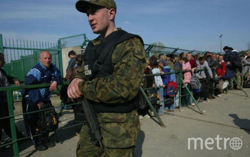 На польско-украинской границе. Фото Getty