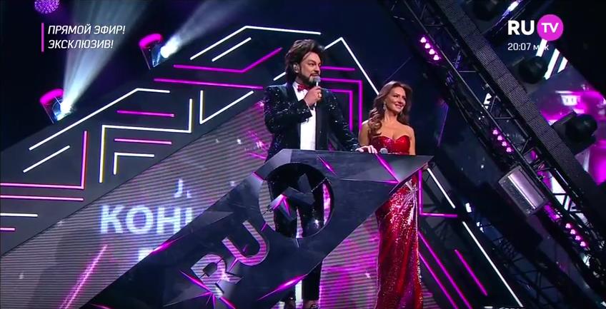 Премия RU.TV 2017: Филипп Киркоров попросил Ольгу Бузову уняться. Фото Скриншот Youtube