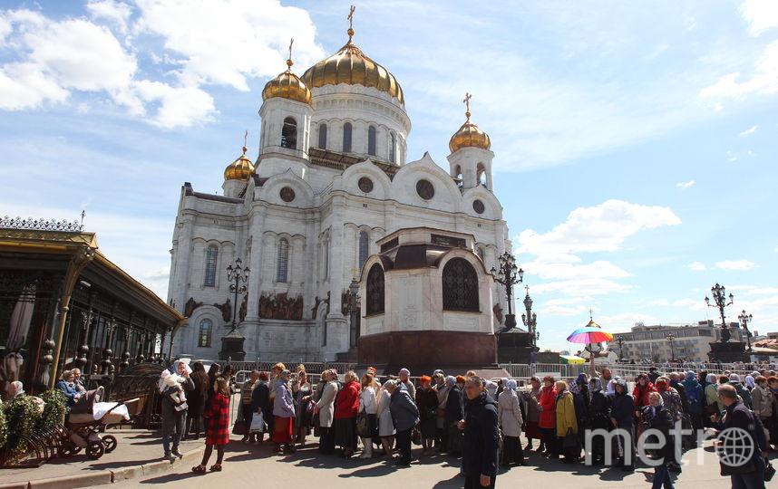 Мощам Николая Чудотворца в столицеРФ поклонилась 271 тысяча верующих