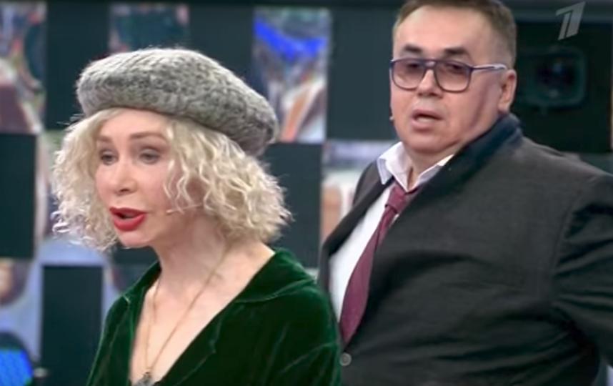 Драка Садальского и Васильевой. Фото Скриншот Youtube