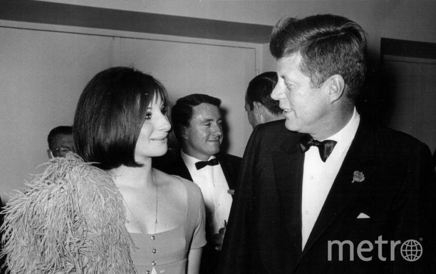 Джон Кеннеди и Барбра Стрейзанд. Фото Getty