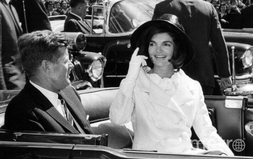 Джон Кеннеди с супругой Жаклин. 1963 год. Фото Getty