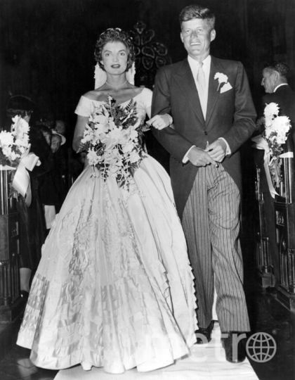 Джон Кеннеди. Свадьба. 12 сентября 1953 года. Фото Getty