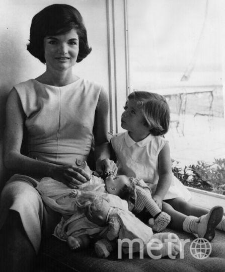 Жаклин Кеннеди и дочка Кэролайн. 1961. Фото Getty