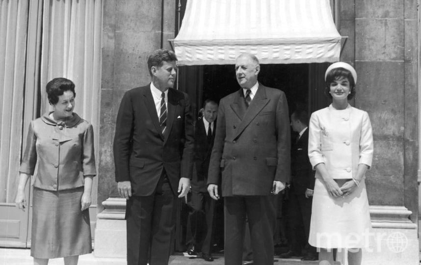 С де Голлем 1961 год. Фото Getty