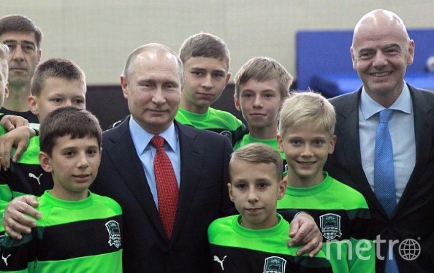 Владимир Путин объявил в РФ Десятилетие детства