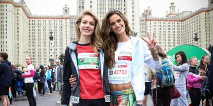Наталья Водянова и Изабель Гулар. Фото Instagram/izabelgoulart