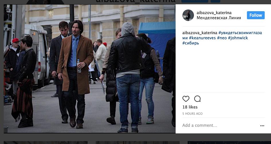 28 мая на Менделеевской линии. Фото instagram
