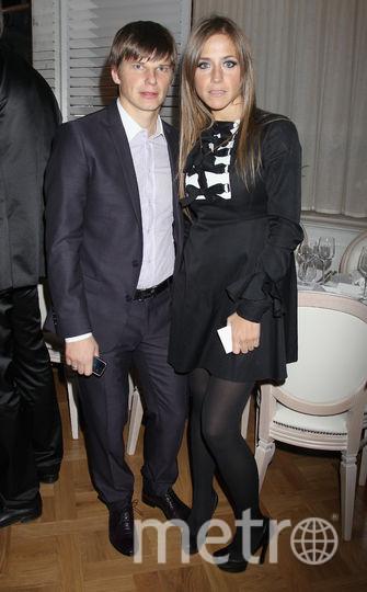 Андрей Аршавин с бывшей гражданской супругой Юлией Барановской. Фото Getty
