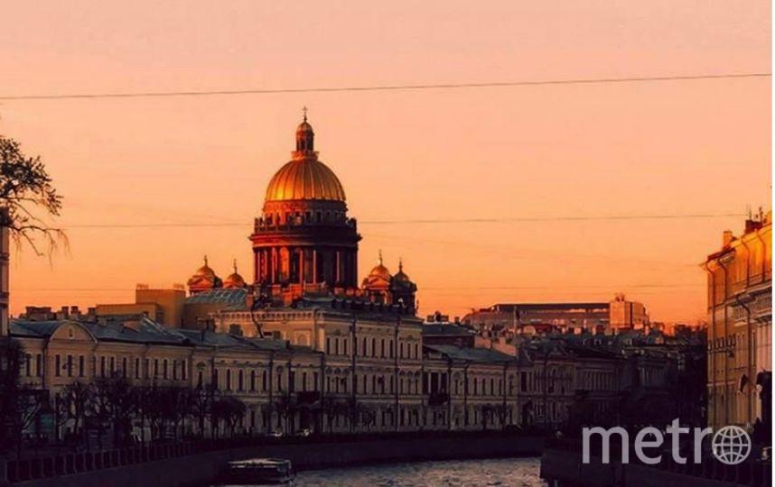 В Петербурге откроют колоннаду Исаакиевского собора для ночных экскурсий. Фото Все- скриншот Instagram